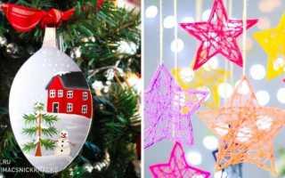 Новогодний декор вязаными вещами – подбор фото