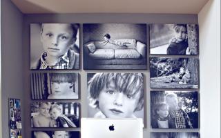 Как повесить рамки для фотографий или картин – подбор фото