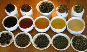 Неферментированный и ферментированный чай