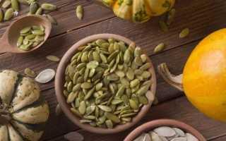 Срок годности тыквенных семечек