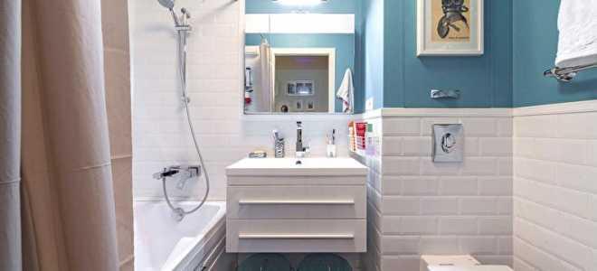Дизайн ванной комнаты в хрущевке – фото до и после