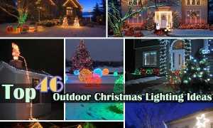 Праздничная иллюминация: новогоднее освещение сада и загородного дома