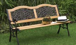 Железные скамейки фото