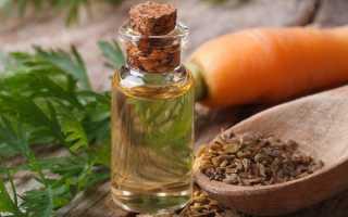Масло моркови: в чем польза эфирного средства из семян, правила применения для получения загара и других целей