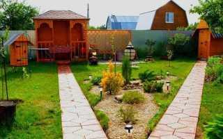 Два варианта планировки сада для 6 соток (600 м2)