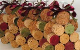 Поделки из пробок от вина- подбор фото