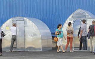 Теплица с открывающейся крышей – новое решение для вашего удобства