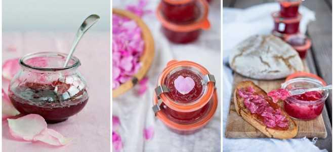 Розовое варенье польза и противопоказания