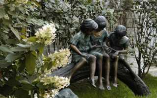 Садовые скульптуры для дачи