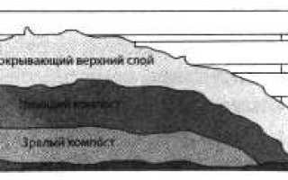 Как устроить теплые грядки в теплице: компост, отопление теплицы навозом, биотопливо