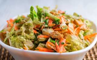 Постные салаты из пекинской капусты: простые и вкусные рецепты с фото, варианты ингредиентов
