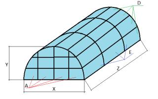 Дуги для теплицы: как рассчитать длину и сделать арочную теплицу под пленку