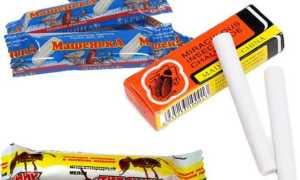Мелки и карандаши от тараканов: плюсы и минусы применения