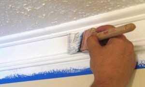 Строительный молдинг – установка и покраска своими руками