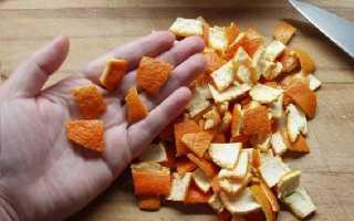 Применение мандариновой кожуры