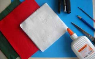 Что можно сделать из ажурных бумажных салфеток