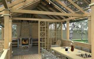 Летняя кухня на даче своими руками – проекты и фото