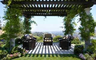 Беседки, перголы, навесы в дизайне сада
