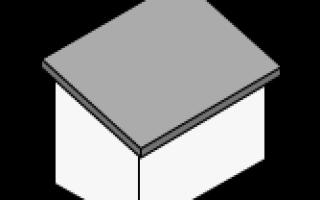 Как рассчитать количество материала для двухскатной крыши