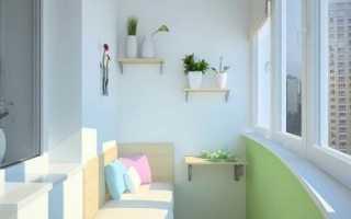 Полки на балконе и лоджии – как сделать своими руками