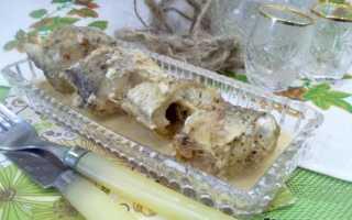 Готовим запеченный хек в сметане и горчицы