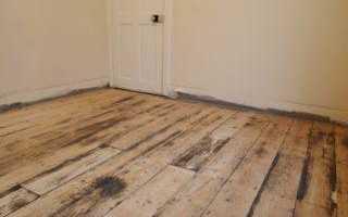 Как и чем отмыть деревянный пол в бане